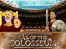 На зеркале сайта азартная игра Call Of The Colosseum